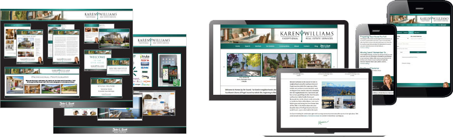 samples of real estate branding for real estate agents