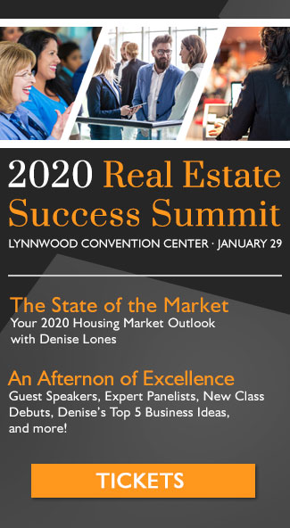 2020 Real Estate Success Summit - January 29 at the Lynnwood Convention Center